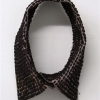 "\""Sweaty Collar\"" - Collar, black rice, thread, sweat by Aram Han"