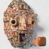 "\""Mousetrap: Tends to Lash Out\"" - Wood, steel, paint, mousetraps by Rob Millard-Mendez"