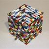 "\""Pop-Meis\"" - LEGO bricks with crank music box mechanism by Marita Bolles"