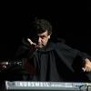 Keyboardist Rubén Valtierra. Weird Al Yankovic at TPAC, April 18, 2013. Photos by Bracken Mayo