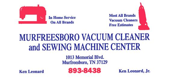 Murfreesboro Vacuum and Sewing