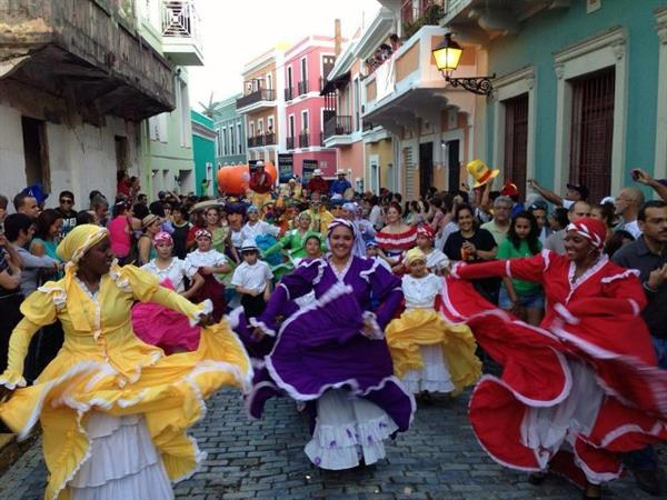 A group of dancers from Puerto Rico will bring their colorful folk dance style to the 2013 International FolkFest.