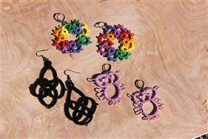 Earrings by Erin Brown