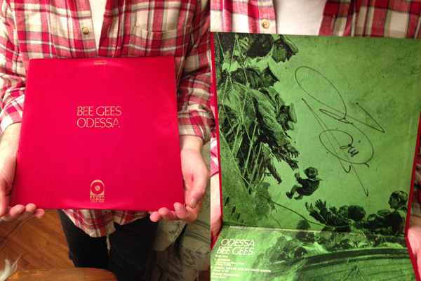 The classic, newly-signed, Odessa album
