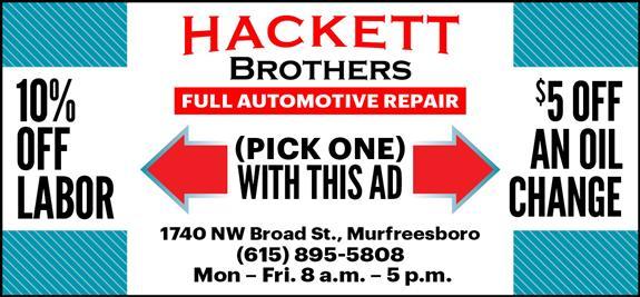 Hackett Brothers