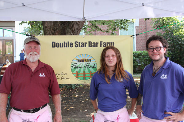Visit Rod White and his knowledgeable assistants at the DSB Farms booth each week at the Murfreesboro Saturday Market on the Square.