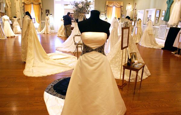Oaklands Hosts Wedding Dresses Through The Decades Exhibit