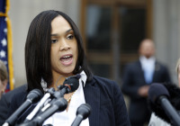 Marilyn Mosby, Baltimore state's attorney. AP Photo/Alex Brandon