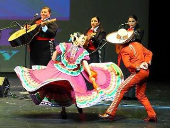 Mariachi Garabaldi and Ballet Folklorico de Los Angeles.