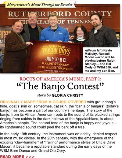 Banjo Contest