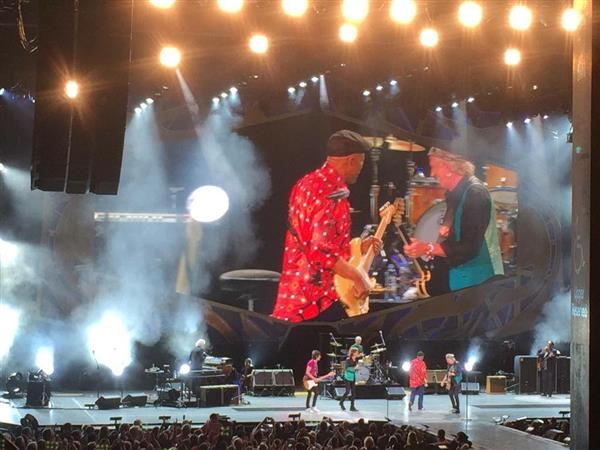 Buddy Guy joined the Rolling Stones onstage at Summerfest