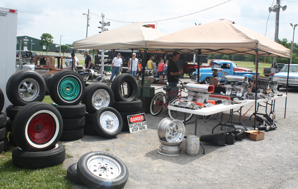 In Addition To All Of The Show Cars Drool Over There Is A Huge Swap Meet With Parts You Would Need Build Your Very Own Ride And Complete