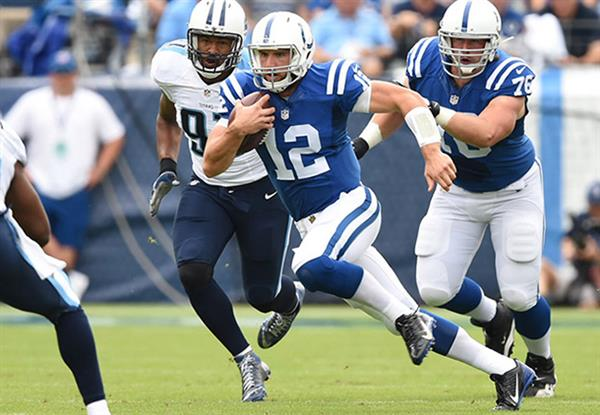 The Titans gave Indianapolis an exciting game, but ultimately Andrew Luck and the Colts left Nashville with a win