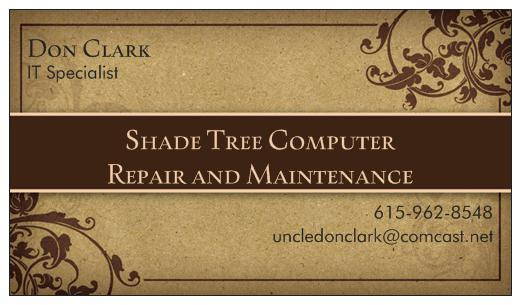 Shade Tree Computer Repair