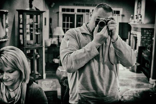 Scott Walker behind the lens