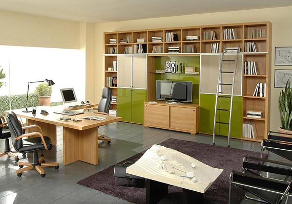 Modern office layout