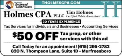 Tim Holmes