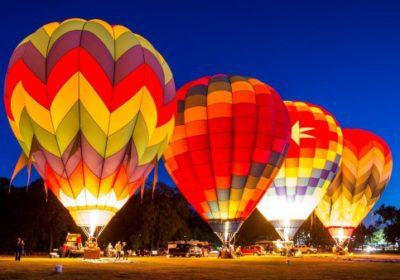 A Drift Over Franklin 2016 Hot Air Balloon Festival