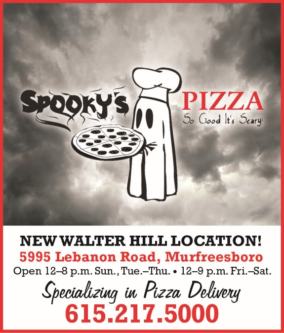 Spooky's Pizza