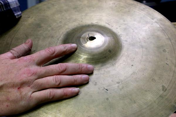 Cymbal Repair by Jake 1