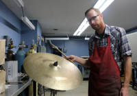 Cymbal Repair by Jake 6
