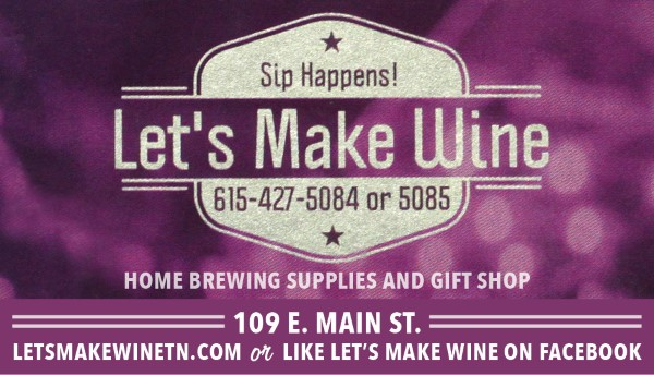 LetsMakeWine July 2016 Pulse ad