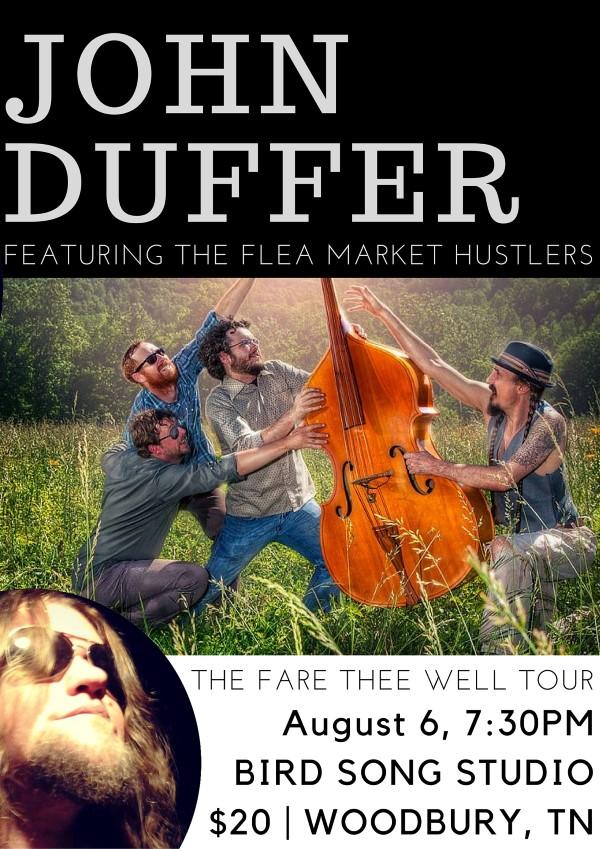 john duffer with the flea market hustlers