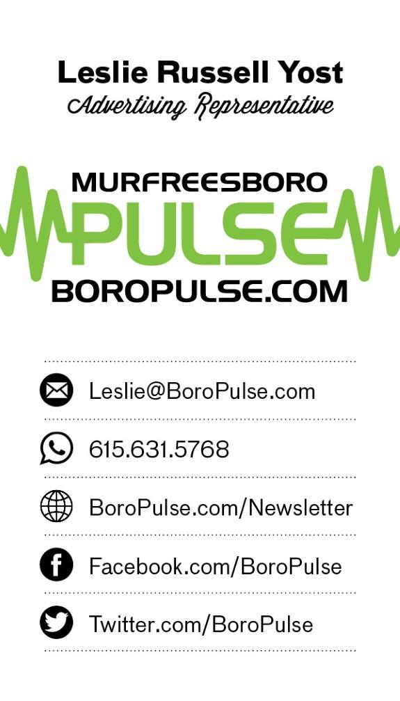 Leslie Pulse card