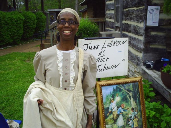 June LaGreen - Harriet Tubman storyteller