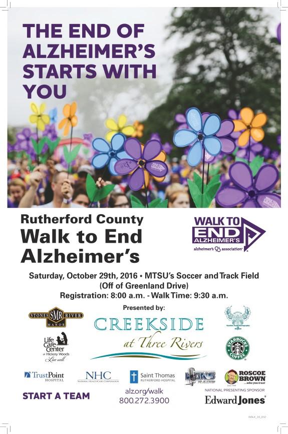 Alzheimers Walk