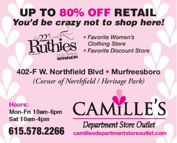 Camille's Department Store Outlet