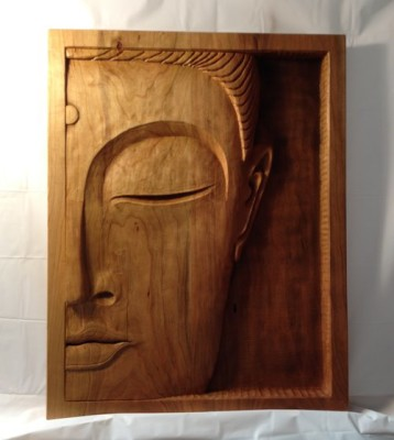 Carved Buddha by Logan Hickerson