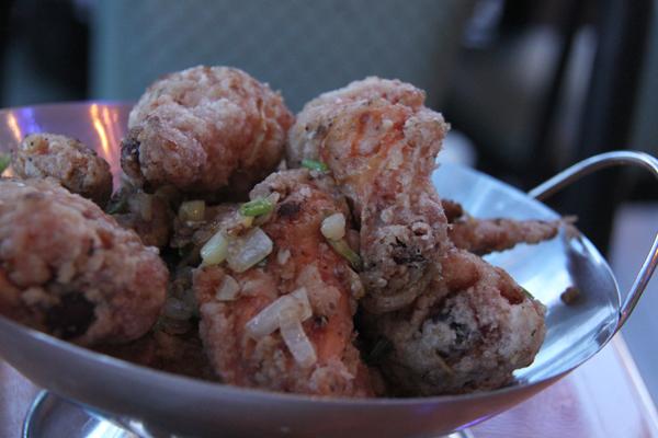 Ginger Salt Chicken Wings