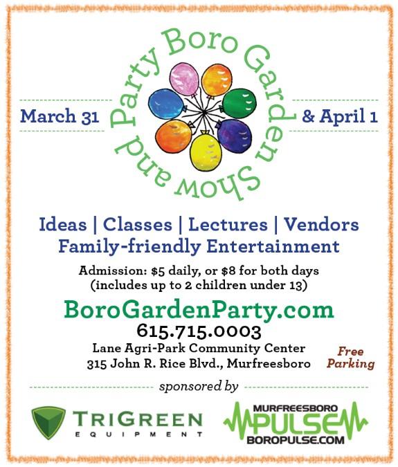 Boro Garden Party