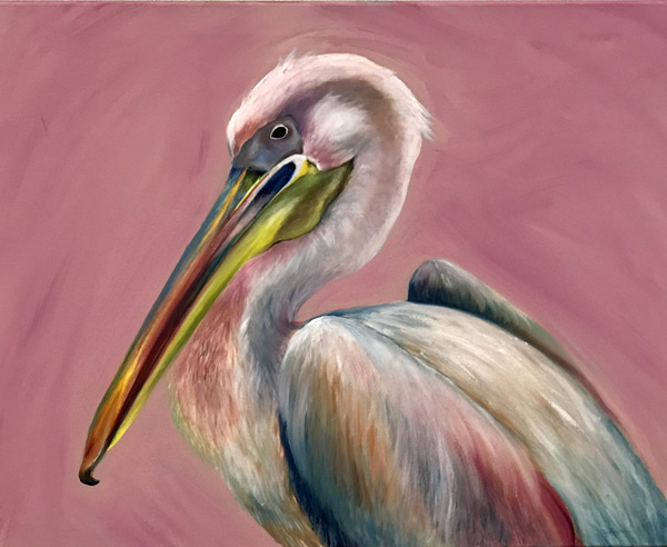 """""""Pretty in Pelican"""" by Amy Maggard"""