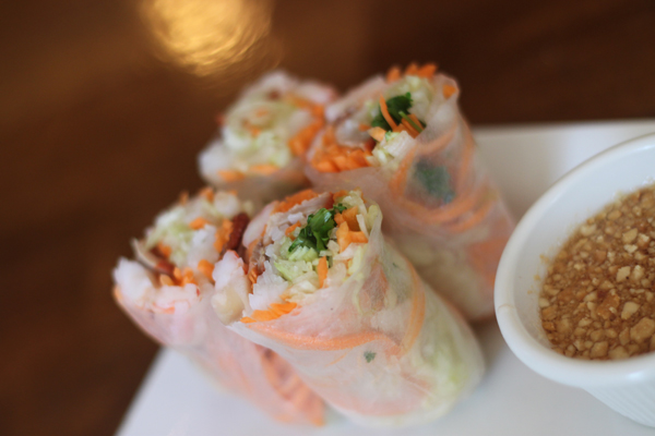 Spring Rolls from Thai Spice