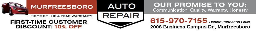 Murfreesboro Auto Repair