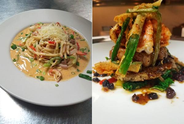 Jazzmatazz - Bang Pasta Steak and Shrimp
