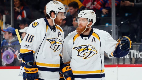 James Neal, Ryan Ellis and the Predators are trying to bring the Cup to Nashville.