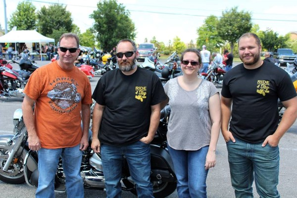 Motorcyclists gathered at Coconut Bay on June 10 to Ride 4 Tay.