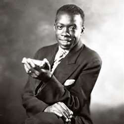 "DeFord Bailey (1899 - 1982) was a ""wizard"" at playing the harmonica."