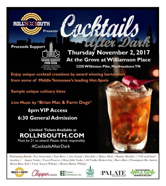 Cocktails After Dark