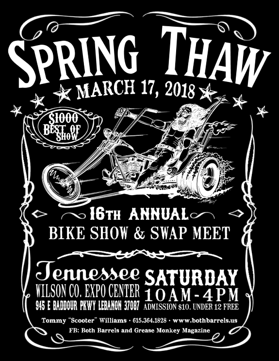 Spring Thaw Bike Show