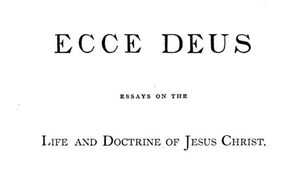 Thesis In Essay Ecce Deus Essays On The Life And Doctrine Of Jesus Christ  Ch Ix The  Church  Part  Thesis Example Essay also Thesis Of An Essay Ecce Deus Essays On The Life And Doctrine Of Jesus Christ  Ch Ix  Sample High School Essays