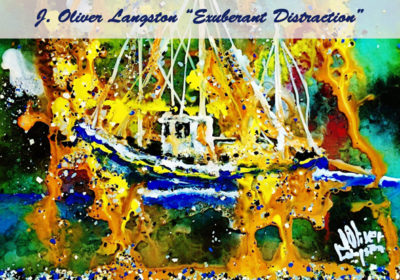 J Oliver Langston S Paintings On Display At Arts Center